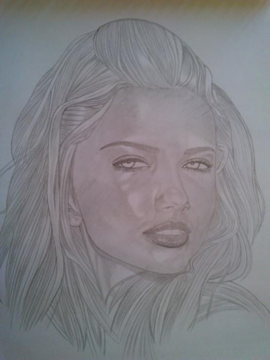 Adriana Lima by GumPen